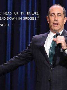 Jerry Seinfeld Is Full Of Great Life Advice