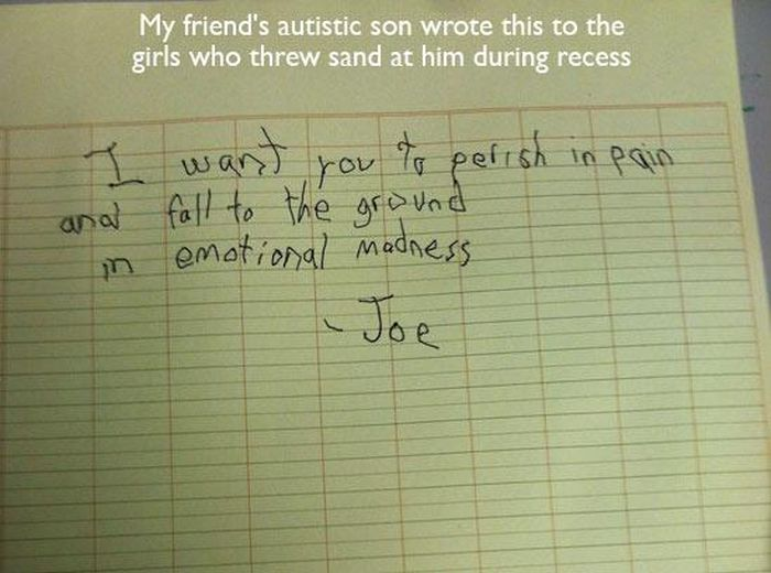 Funny Notes That Could Only Be Written By Kids