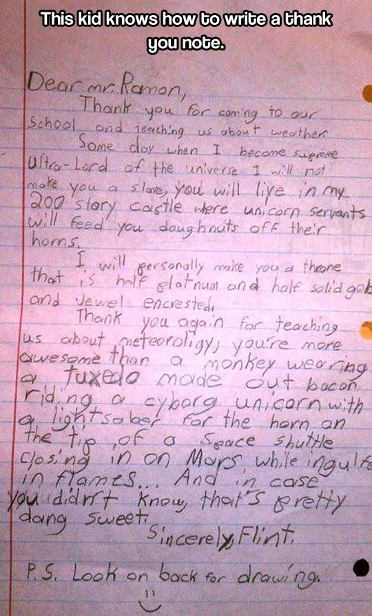 Funny Notes That Could Only Be Written By Kids | Fun