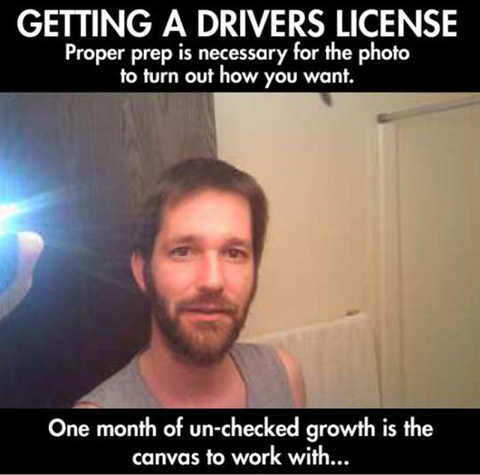 Man Totally Trolls The DMV With An Epic License Photo