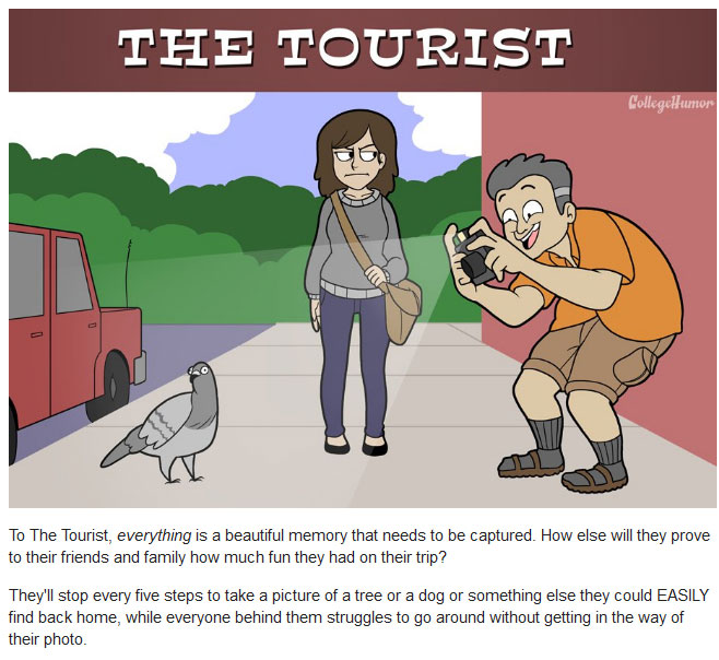 The 6 Types Of Annoying Pedestrians You'll See On The Street