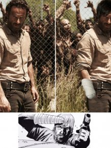 The Differences Between The Walking Dead Characters In The Comics And On TV