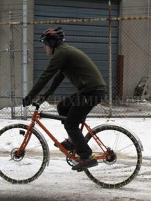 The MacGyver Approach to Winter Biking