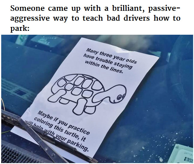 Anonymous Hero Owns Bad Drivers With This Passive Aggressive Note