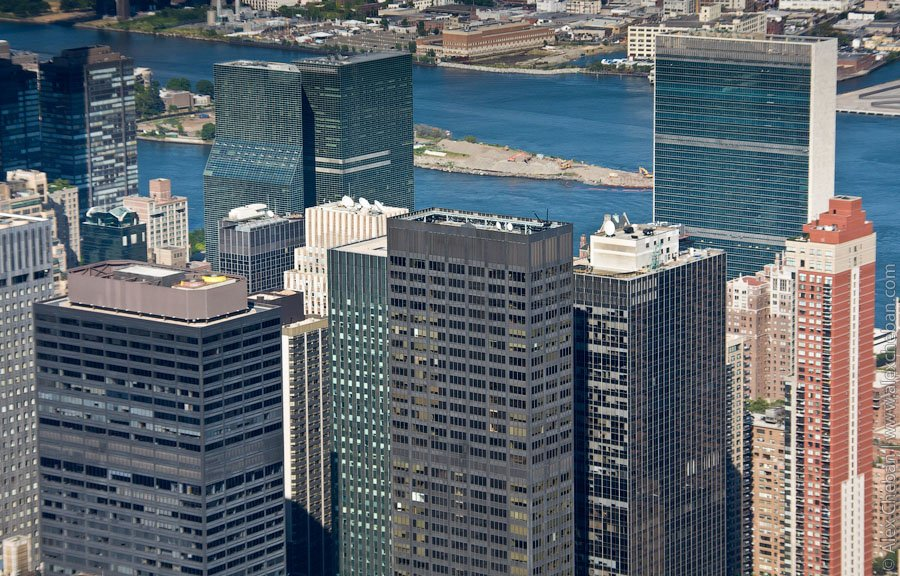 New York's tallest building in Manhattan
