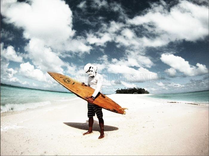 Surfing Trooper