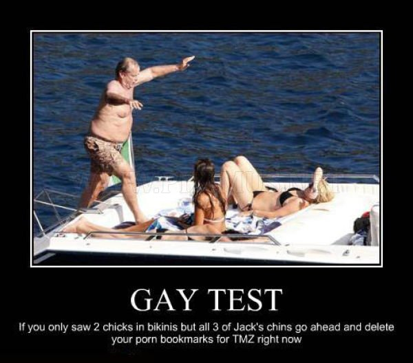Demotivational Posters Test If You're Gay