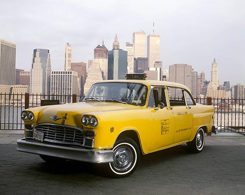 New York Yellow Cab Vehicles