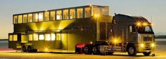 Ashton Kutcher's Villa on Wheels