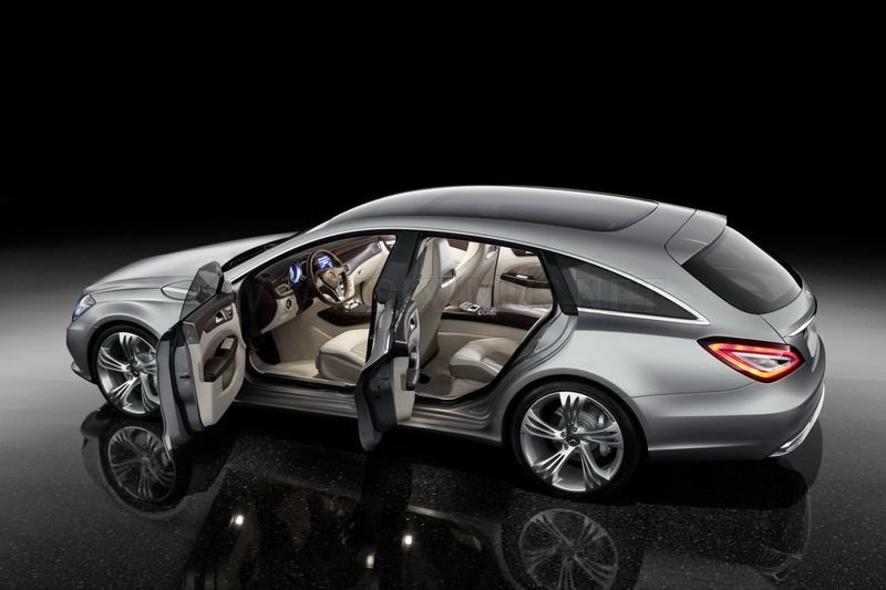 New Mercedes-Benz Shooting Brake release in 2014, part 2014