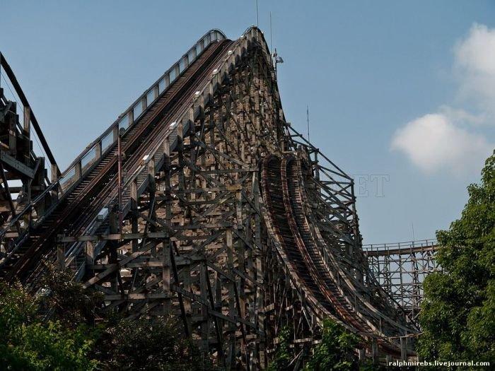 Abandoned Amusement Park in Japan