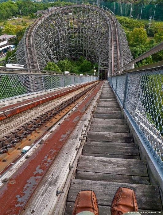 abandoned japanese theme park - photo #15