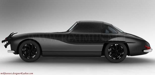 Mercedes concept - Dragon Gullwing