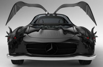 Mercedes concept - Dragon Gullwing