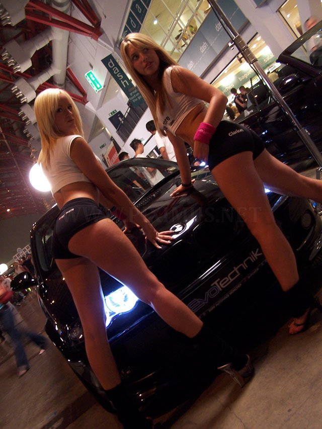 Girls and BMW
