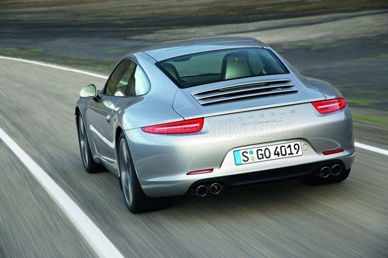 The first photos of the new Porsche 991 Carrera