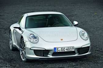 The first photos of the new Porsche 991 Carrera
