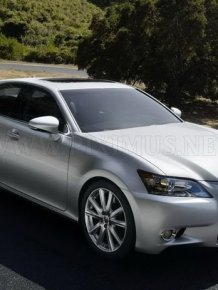 Official photos of new Lexus GS
