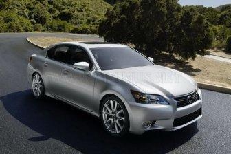 Official photos of new Lexus GS