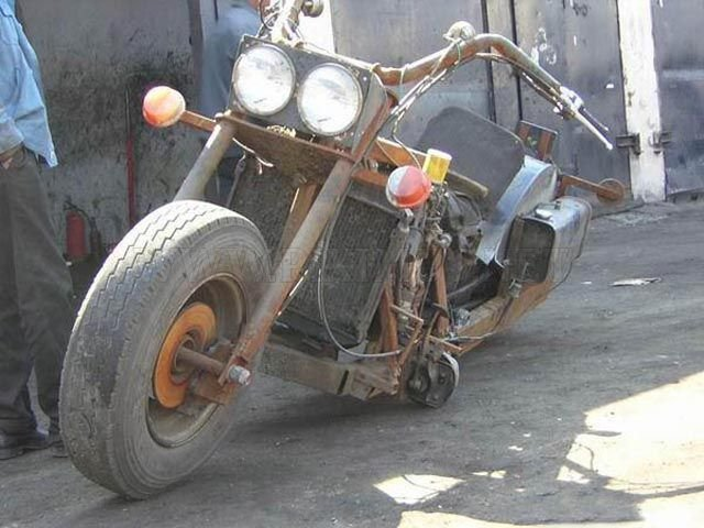 Hell Raising Motorcycle