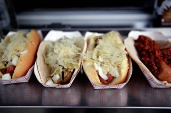 History of New York hot dogs