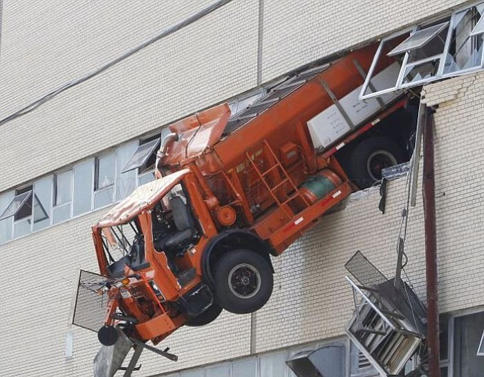 Just A Truck In The Wall