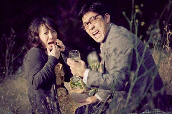 Weird Wedding Photo Session