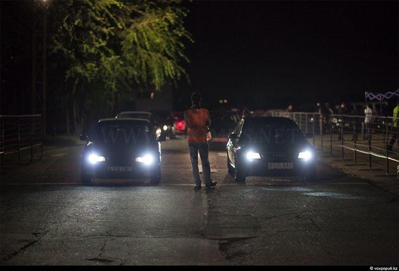 Racers in Kazakhstan
