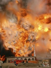 NATO Oil Tanker Exploded In Pakistan