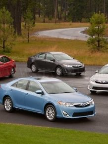 Official photos of new Toyota Camry