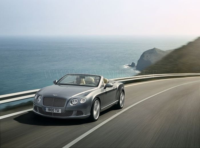 The new Bentley Continental GTC