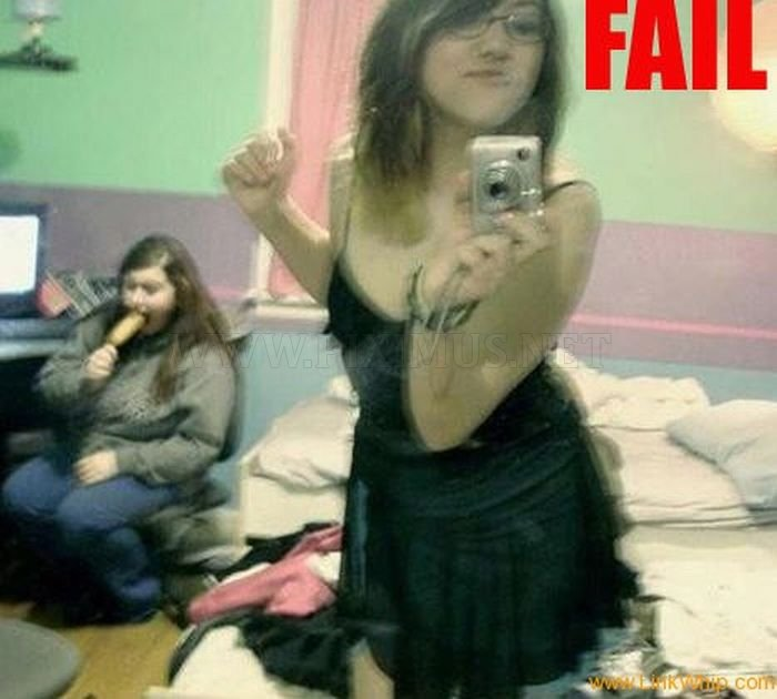 Girl Self Shot Fails
