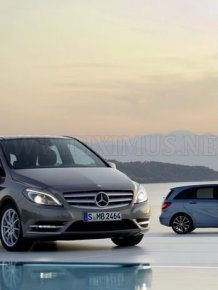 New Mercedes-Benz B-Class official photo