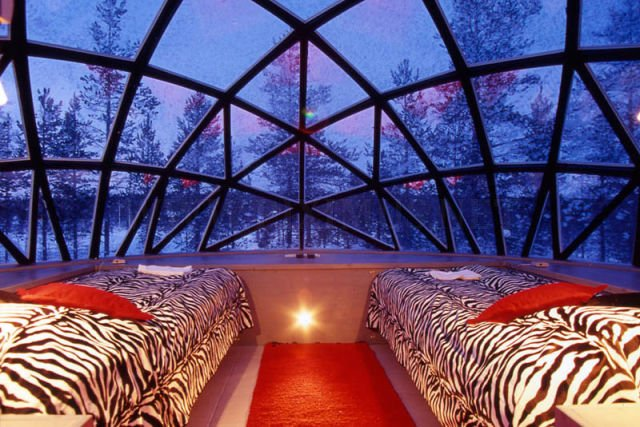 Finland's Igloo Village Resort