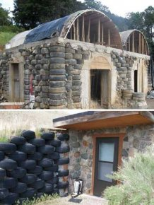 House Build with Tires