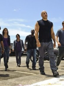 Scenes from the movie Fast 5
