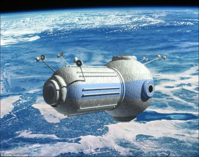 Russian Built Space Hotel With Amazing Views