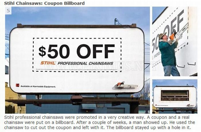 Innovative Outdoor Advertising