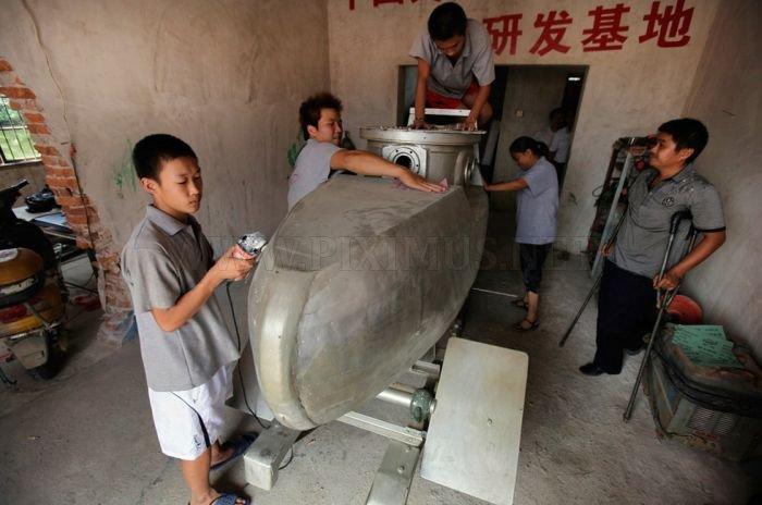 Χειροποίητα κινεζικό υποβρύχιο