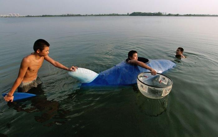 Handmade Chinese Submarine