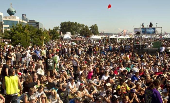 Seattle Hempfest 2011 , part 2011
