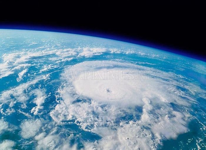Hurricane Irene: Space View