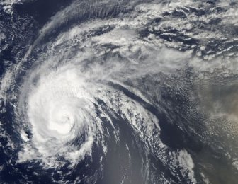 Hurricane Irene: Space View