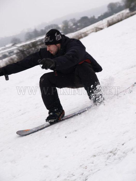 Snowboarding and Surfing