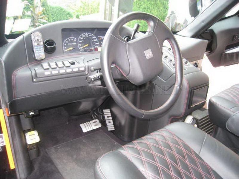 Minivan Mauck - home-made motor home