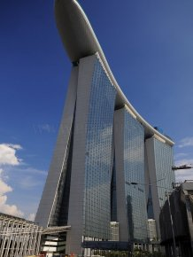 Singapore casino resort Marina Bay Sands