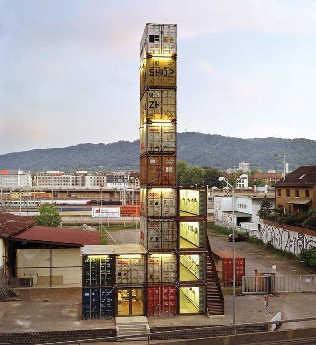 Brilliant Cargo Container Structures