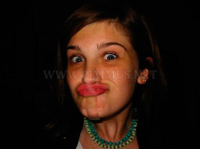 Funny Tape Face Photos