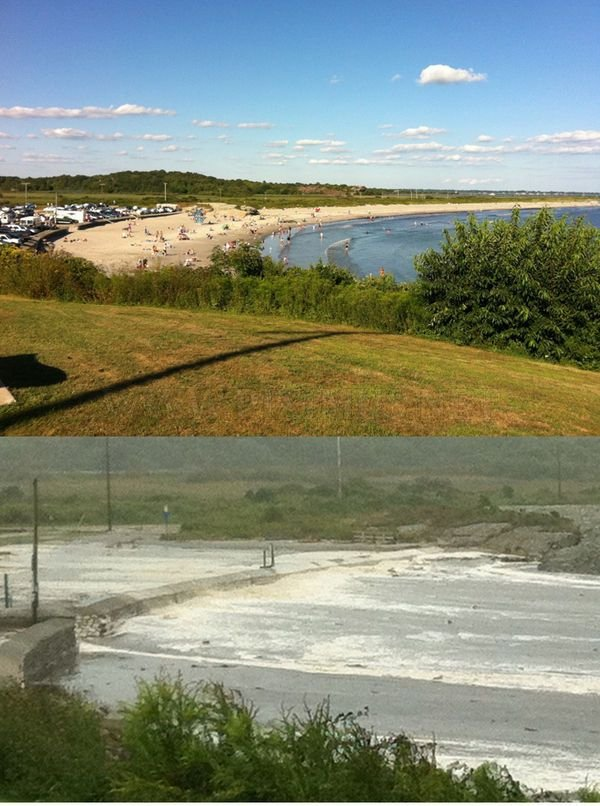 Before & After Hurricane Irene