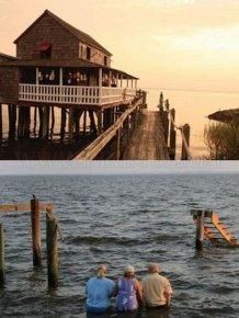 Before & After Hurricane Irene